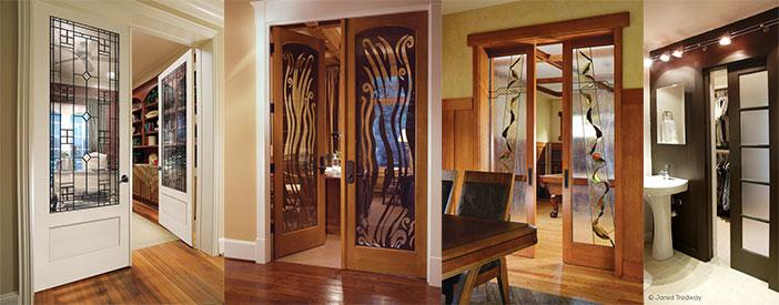 glazed internal door